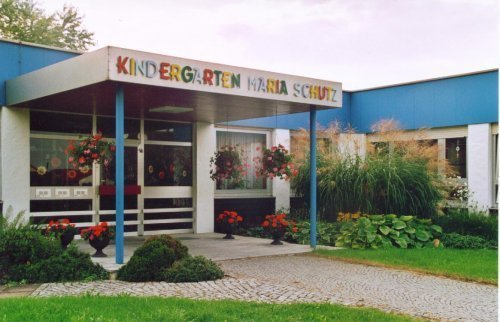 Außenansicht vom Kindergarten Maria Schutz