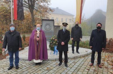 Gedenken an Opfer von Krieg und Gewaltherrschaft